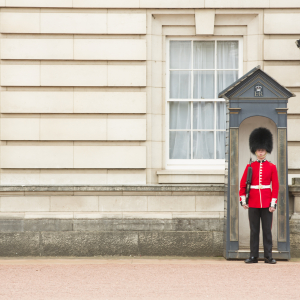 Buckingham palace beefeater